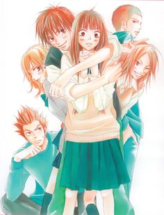 Kimi ni Todoke. I rated it 10 outta 10 with full bloom romance XD