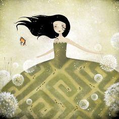 Le Labyrinthe - Anne-Julie Aubry