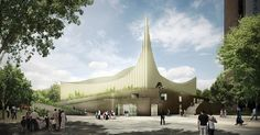 Arch2O Prishtina Central Mosque Competition Entry Taller 301 and LCC-02