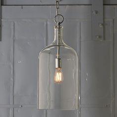 Glass Jug Lantern