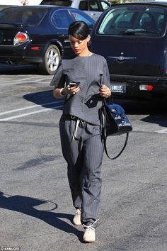 Elle's Fashion Boudoir : Rihanna in Alexander Wang | West Hollywood