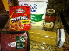 Pizza Spaghetti by Wolfelicious.  Super easy dinner.