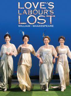 Love Labours Won (or Much Ado About Nothing).  RSC. Kinoculture, Oswestry, Wednesday 3rd March.
