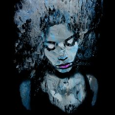 Melancholy and the Infinite Sadness Black and White Art Print by MarianVoicu - X-Small White Art, Black Art, Pink White, Art Prints For Sale, Fine Art Prints, Black And White Coffee, Melancholy, Portrait Art, Wood Wall Art
