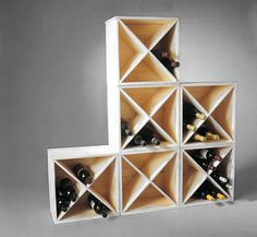 Stacking Cube Wine Rack - Wine Racks | Wine Storage