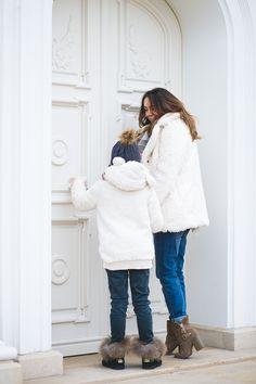 Fashion kids fashion girl fashion mum winter fashion
