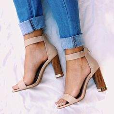 Chunky heels are here to stay!