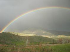 Rainbow near Highland, CA