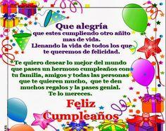 Listado de frases, mensajes y palabras originales para desear un feliz cumpleaños a nuestr querido amigo ( a )