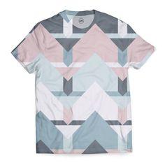 Scandi Waves T-Shirt by Daniela di Niro (@DesigndN) from €29.50 | miPic