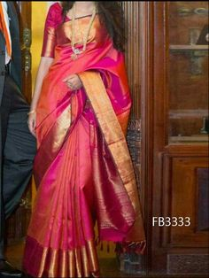 You searched for kanchipuram saree - Online Sale India Indian Silk Sarees, Soft Silk Sarees, South Indian Sarees, Pink Saree Silk, Silk Sarees With Price, Silk Saree Blouse Designs, Saree Blouse Patterns, Indian Dresses, Indian Outfits