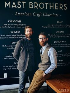 The Mast Brothers of Mast Brothers Chocolate.  They started in their apartment, wrapping chocolate in beautiful paper they sourced from the markets and paper shops.  Their business grew rapidly and they now import tons of beans from around the world, to make 'bean-to-block' chocolate.  There was some controversy with claims that they simply bought processed chocolate from the likes of Valrhona and just melted it down at the start.  But it appears at least they're not doing that now.
