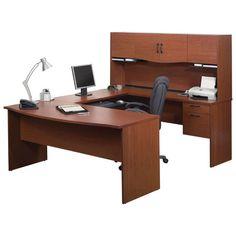 Bestar Harmony Workstation - Bordeaux   - Online Only