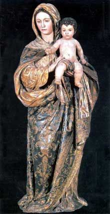 Alonso Cano: Vierge de la Oliva du retable de Lebrija