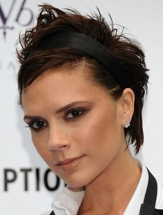 Victoria Beckham Hair Over the Years: October 16, 2008