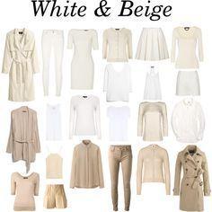Minimalist . White & Beige by charlotte-mcfarlane on Polyvore