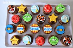 27 Brilliant Photo of Toy Story Birthday Cakes . Toy Story Birthday Cakes Toy Story Cupcakes Toy Story Birthday Party Ideas In 2018 Toy Story Birthday Cake, 3rd Birthday Cakes, Happy Birthday, Birthday Parties, Birthday Ideas, Toy Story Theme, Toy Story Party, Disney Cupcakes, Cupcake Cakes