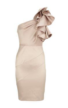 Beige Dress, bridesmaids dressed