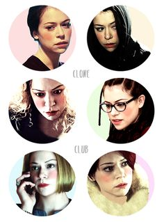 Orphan Black- The first rule of clone club...don't talk about clone club