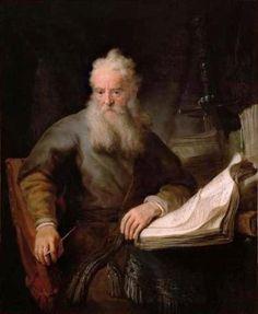 Rembrandt van Rijn (b,1606)- Apostle Paul
