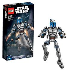 LEGO Star Wars 75107 Jango Fett ** You can get more details by clicking on the image.