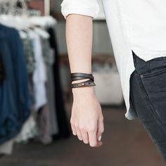 Alexis Drake Leather Bracelet – HEYDAY