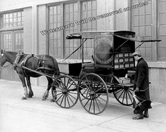 Photograph Edison Phonographs Cylinder Recordings Sales Wagon 1905c 8x10 | eBay