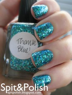 Lynnderella Thank Blue! Over Orly Halley's Comet