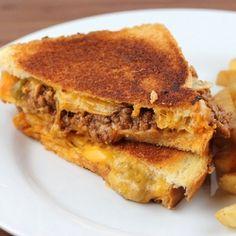 Sloopy Joe Grilled Cheese. Who wudda thunk it?