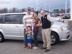 Ewa and her family from Fuquay Varina NC found their family van online and knew they have the best deal around. This 2012 Dodge Grand Caravan is heading home. Thank you Ewa and family for your business. Their salesman is Cliff Madden.