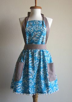 I'm thinking about homemade aprons...