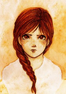 Imogen by TheRookieCookie on deviantART I think Imogen should have chocolate colored  hair and eyes.