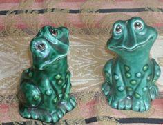 Frog Salt and Pepper Shakers   eBay