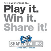 Enter for a chance to win a 100 dollar Target® Giftcard® courtesy of Scott®!