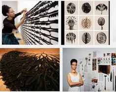Sonya Clark 1967 - DC BFA Art Institute of Chicago MFA Cranbrook Academy of Art