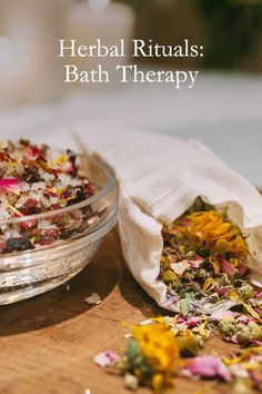 Herbal Rituals: Bath Therapy