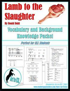 lamb to the slaughter roald dahl pdf