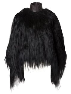 goat fur coat givenchy f.w2013 the outnet