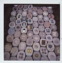 Pavers year one, detail. Stepping Stones, Art Pieces, Detail, Outdoor Decor, Artwork, Home Decor, Homemade Home Decor, Work Of Art, Artworks