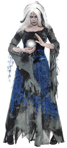 Mère Femme Adulte maudit Creepy Old Lady Costume Halloween