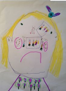 'The Brain House' by Sophie, Age 8