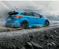 Ford Focus with a more comfortable, spacious interior, sophisticated look, advanced technology and powerful, fuel-economical engines. Car Images, Car Pictures, Car Pics, My Dream Car, Dream Cars, Ford Focus Hatchback, Focus Rs, Focus Photography, Henry Ford