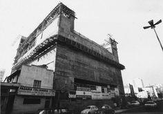 Obras do teatro Sergio Cardoso, em 1975, na Bela Vista. Foto Marcos Fernandes/ Estadão