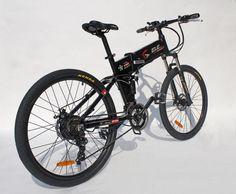 Black Fashion 250W Electric Bicycle