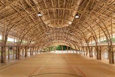 Bamboo Sports Hall For Panyaden International School - Picture gallery