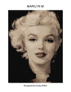 Marilyn M Peyote Pattern