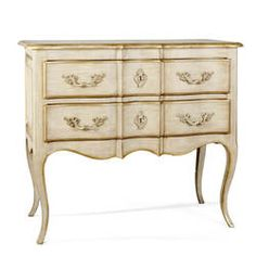 Roosevelt 2 Drawer Chest in Creme by French Market Collection