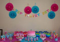 First birthday girl decoration
