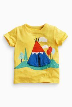 Kopen T-Shirt met tipi rits (3 mnd-6 jr) nu online op Next: Nederland