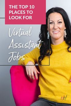 If you are an aspiring (or even seasoned) Virtual Assistant you may be wondering where you are going to find the clients that are excited to work with you and understand your worth! Finding these clients is worth the effort - but first you need to find qualified leads! Let us show you our top 10 places to start looking! Executive Assistant Jobs, Virtual Assistant Jobs, Start Up Business, Online Business, Best Online Jobs, Freelance Writing Jobs, List Of Jobs, Looking Online, Career Development